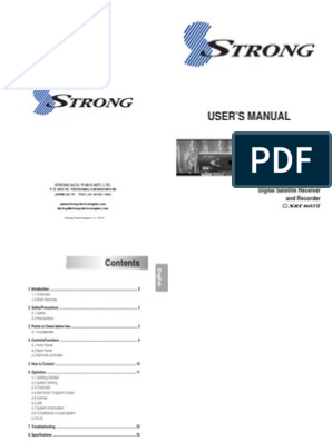 SRT 4669XII - CONAX - MPEG 4 - DVR_Manual_English for Middle East