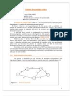 Método do caminho crítico_PERT-CPM