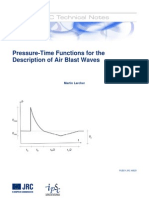 Pressure-Time Functions AIR BLAST_JRC46829