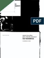 Bourdieu Pierr Los Herederos Conclusion