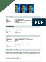 Harithfaizal Resume
