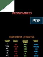 PRONOMBRES CLASE 3