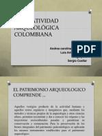 PATRIMONIO ARQUEOLÓGICO DE COLOMBIA