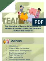 Dicipline Team