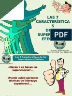 7 caracteristícas de los supervisores efectivos