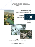 Nurşin Ateşoğlu Güney and Fuat Aksu (Eds.), Proceedings of the International Conference on the Potential Crisis And Conflicts in the Western Balkans, December 14th, 2004, İstanbul, İstanbul