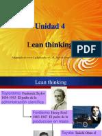 Unid 4 Lean Thinking