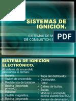 SISTEMAS DE IGNICIÓN
