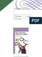 Actividades Del Libro Rosalinde Tiene Ideas en La Cabeza