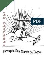 Plan Pastoral 2012 Parroquial
