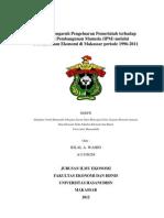 Analisis Pengaruh Pengeluaran Pemerintah Terhadap Indeks Pembangunan Manusia