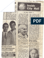 1984 - June 15 - Sun-Times - Inside City Hall - Politics of Softball David