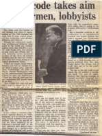 1987 - Feb 15 - Trib - Ethics Code Takes Aim at Alderman, Lobbyists