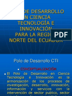POLO DE DESARROLLO EN CIENCIA TECNOLOGÍA E INNOVACIÓN modificado