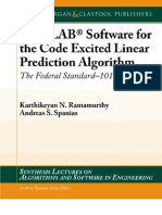 MATLAB Software for the Code Excited Linear Prediction (1608453847)