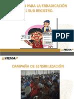 CAPACITACIÓN REGIONAL DE SENSIBILIZACIÓN