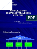 Manipulaciones y Fraudes Contables