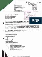 Surat Pelepasan Guru Untuk Menyertai Jambori Himpunan Jutaan Belia 2012