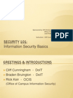 Security 101 - Presentation
