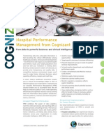 Hospital Performance Management from Cognizant