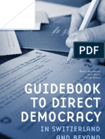 IRI Guidebook to Direct Democracy in Switzerland and beyond - 2010