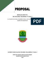 Proposal Rehab Gedung SD CIKUT I 2011