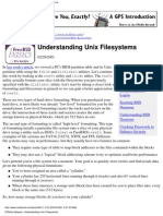 Understanding UNIX File Systems