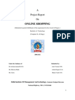 Online Shopping Project Report