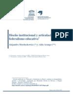Federalismo Educativo Comparado Web