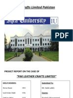Pak Leather Crafts Limited Pakistan