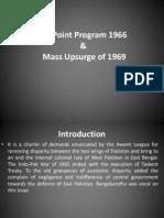 Six Point, Agartala and Mass Uprisint 1969