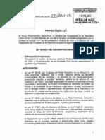 Ley Resident Ado 2013 Peru