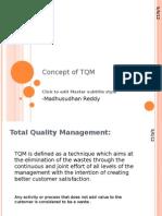 Concept of TQM