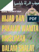 [ibn taimiyah] hijab & pakaian muslimah dalam shalat