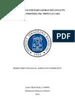 Paper Analisis Laporan Keuangan Unilever