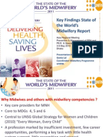 Lal_State of the World's Midwifery Report and midwifery in Asia