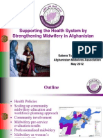 Turkmani_Midwifery Model in Afghanistan