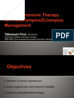 Firoz_Choice of Anti Hypertensives in Management of PEE