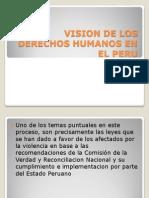 Vision de Los Derechos Humanos en El Peru