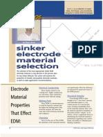 Electrode Properties Edm