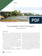 Sustainable Island Strategies