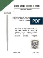 Tesis-Aplicacion de la Ecuación de Balance de Materia en el Comportamiento de Yacimientos