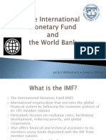 Imf and World Bank FINAL