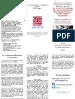 Seminario di costellazioni familiari sistemiche 20 maggio 2012 Milano