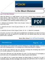 How to Do Short Division