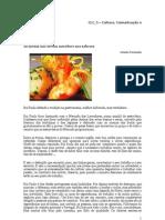 Reportagem, notícia e entrevista sobre gastronomia