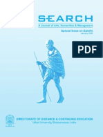 Search Special Issue on Gandhi