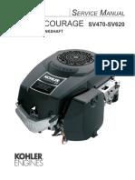 Kohler Courage SV470 Service Manual