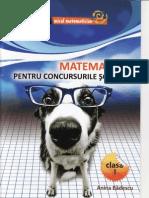 Matematica pentru concursurile scolare Clasa.1