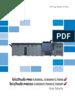 BH C 6000-7000 operario en español